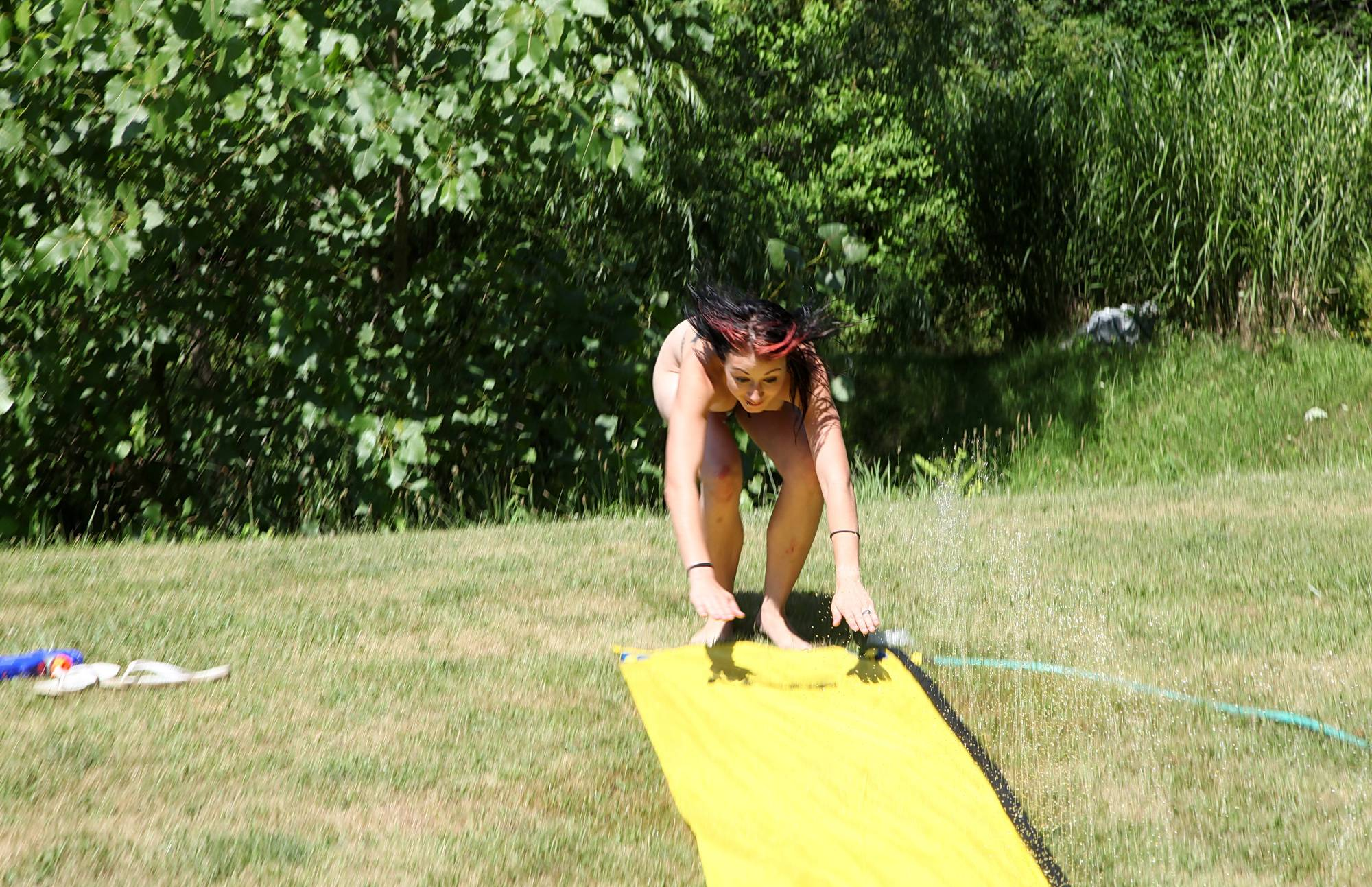 Nudist Pics Amazing Slip n Slide Ride - 2