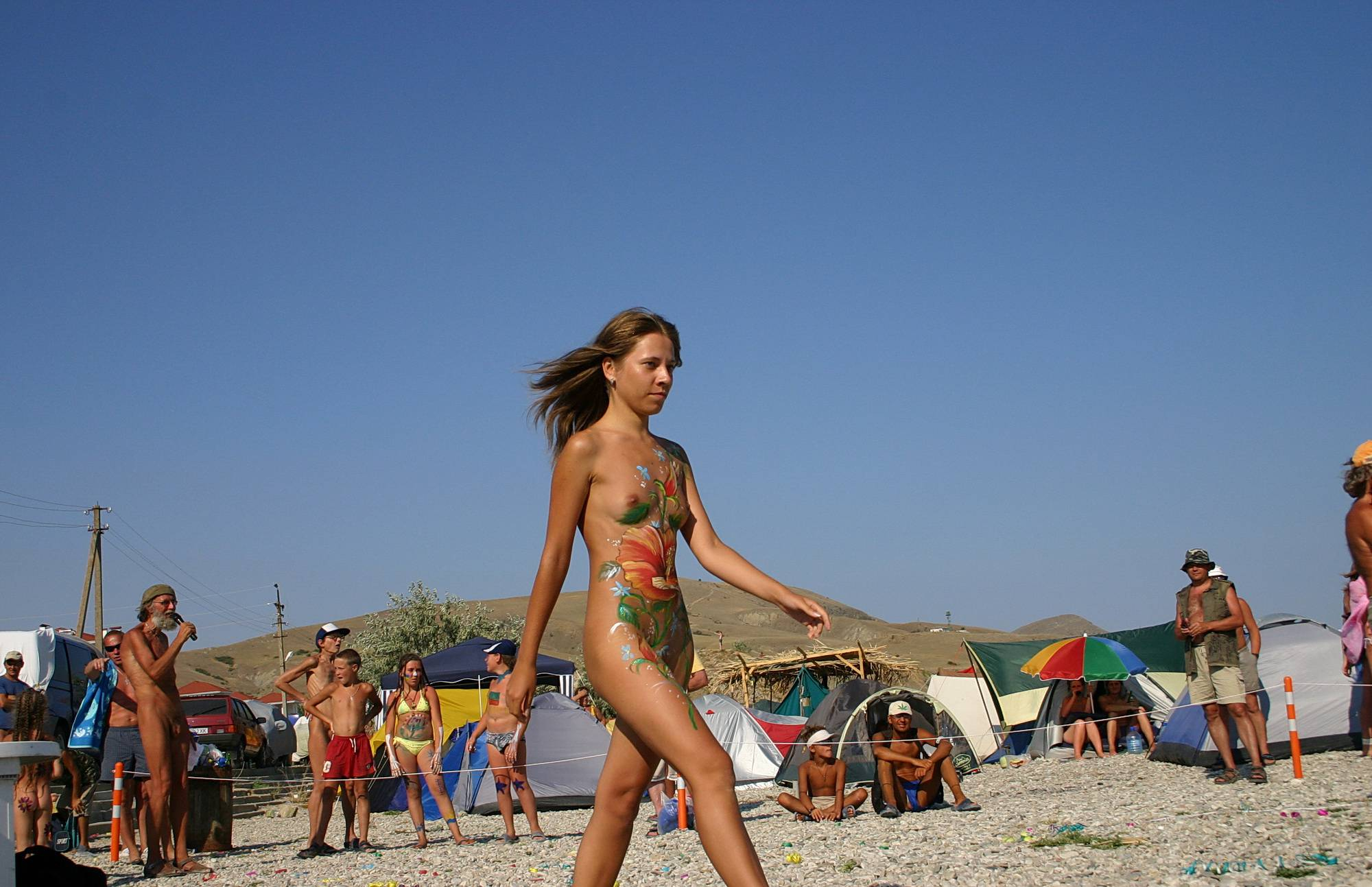Nudist Gallery Beach Time Talent Show - 2