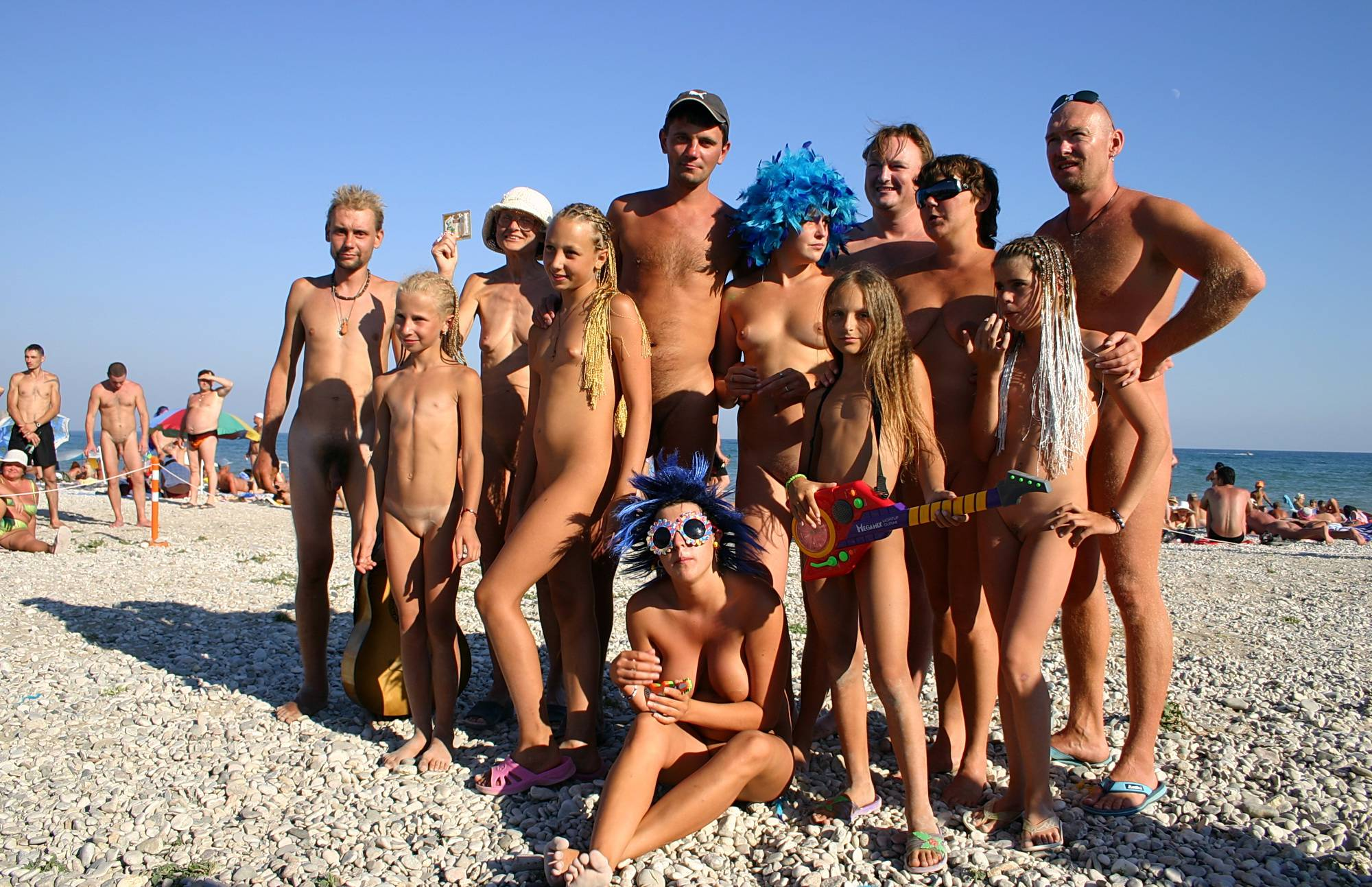 Blue Haired Sand Dance - 1