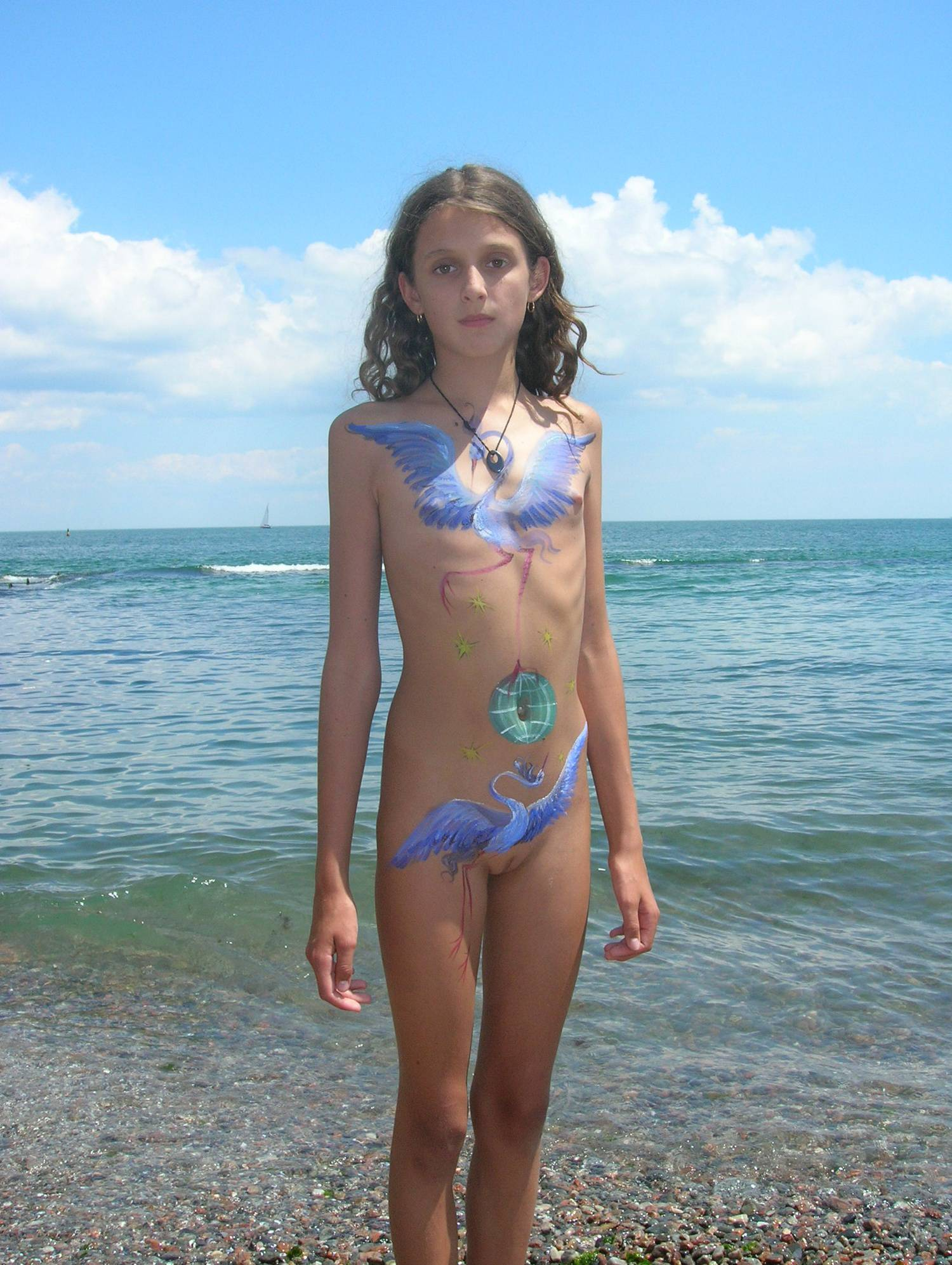 Nudist Pictures Blue Stork Bodywork Girl - 2