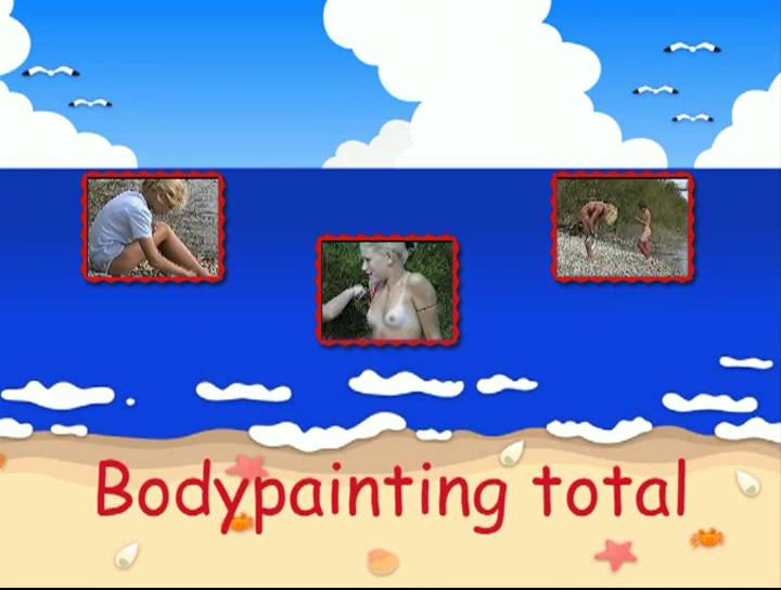 Naturist Videos Bodypainting total - Poster