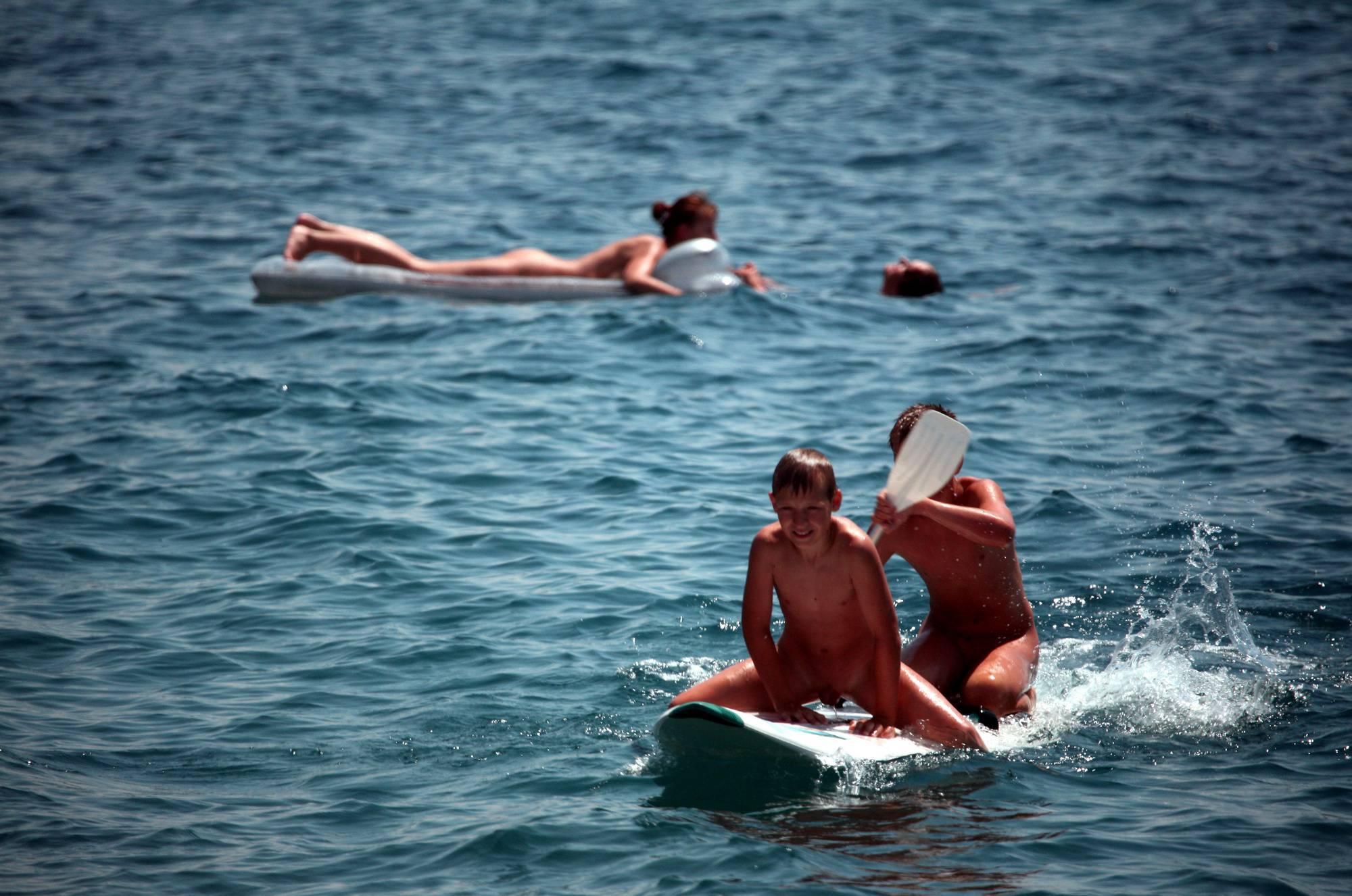 Nudist Photos Boys Nudist Water Surfing - 2