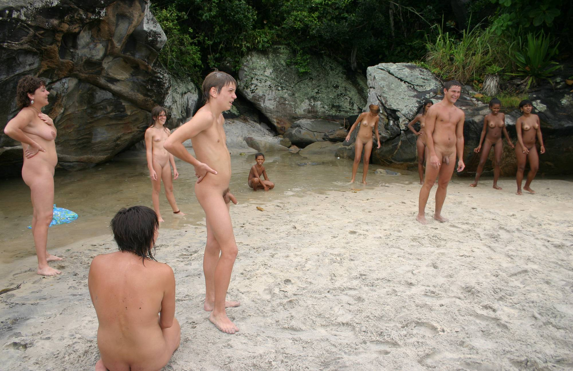Nudist Pictures Brazilian Game Gathering - 1
