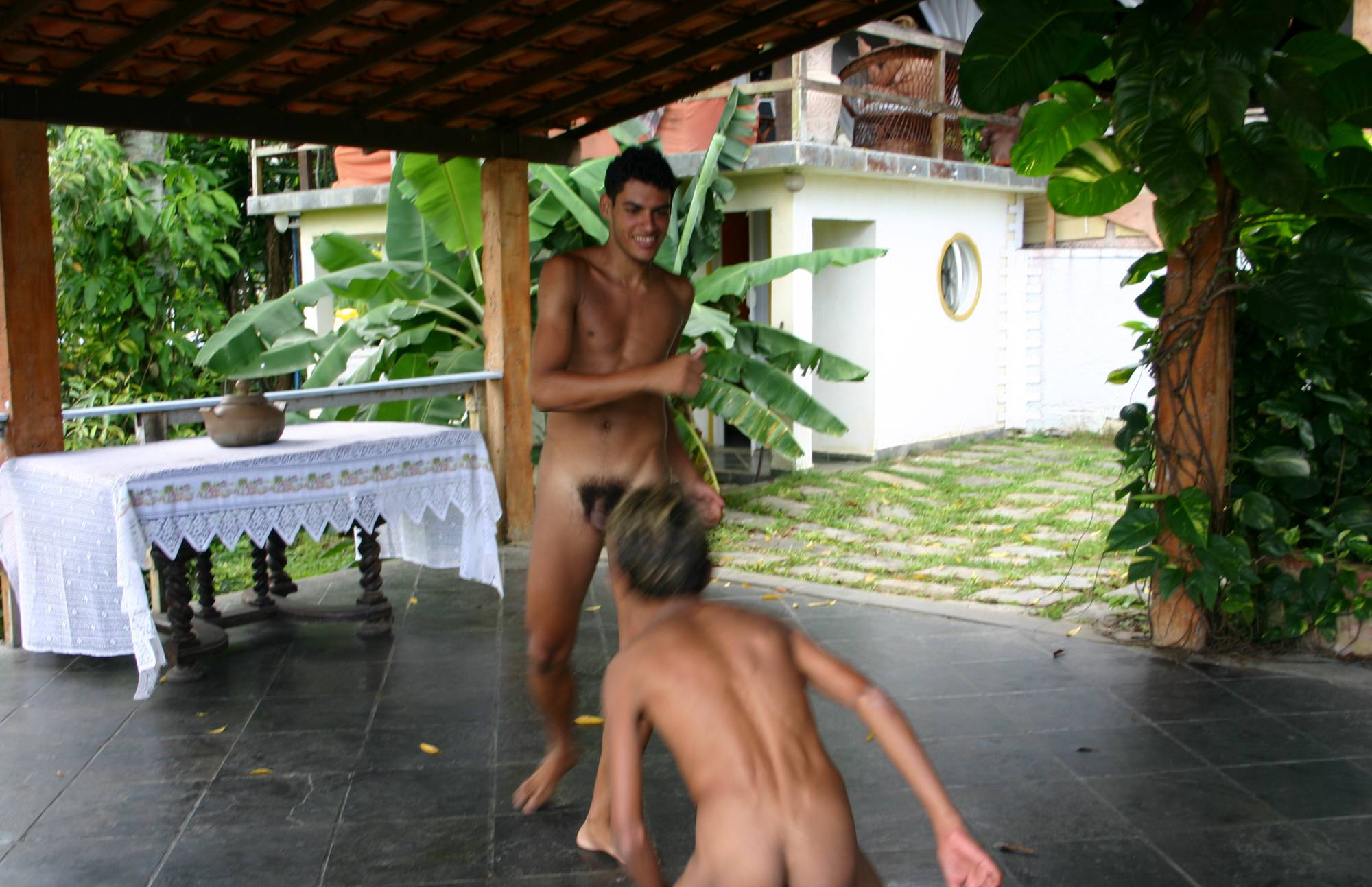 Brazilian Men Are Dancing - 1