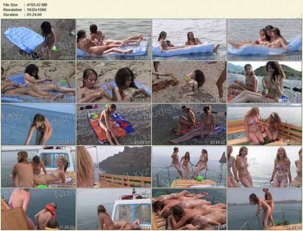 Frames Body Art Nudist Beach - Part 2 1
