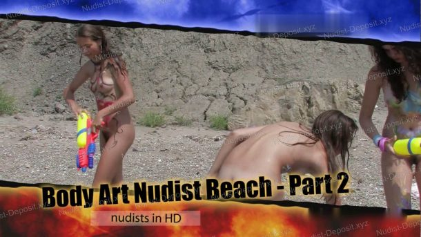 Body Art Nudist Beach - Part 2 - frame
