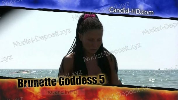 Brunette Goddess 5 - cover