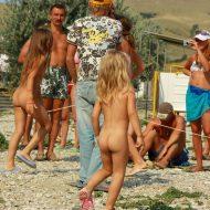 Children's Group Dancing