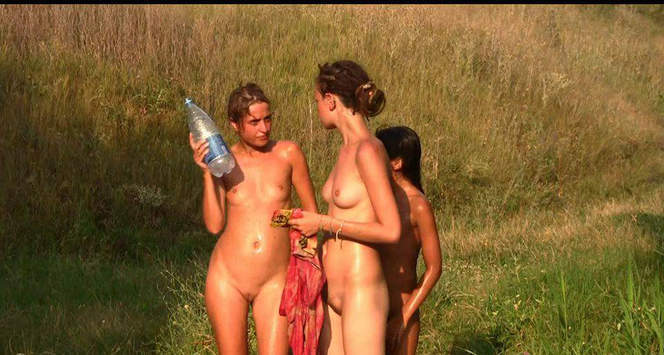 Nudist Videos Countryside Lounging 1 - 2