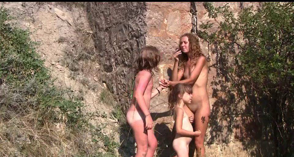 Nudist Movies Countryside Lounging 1 - 1