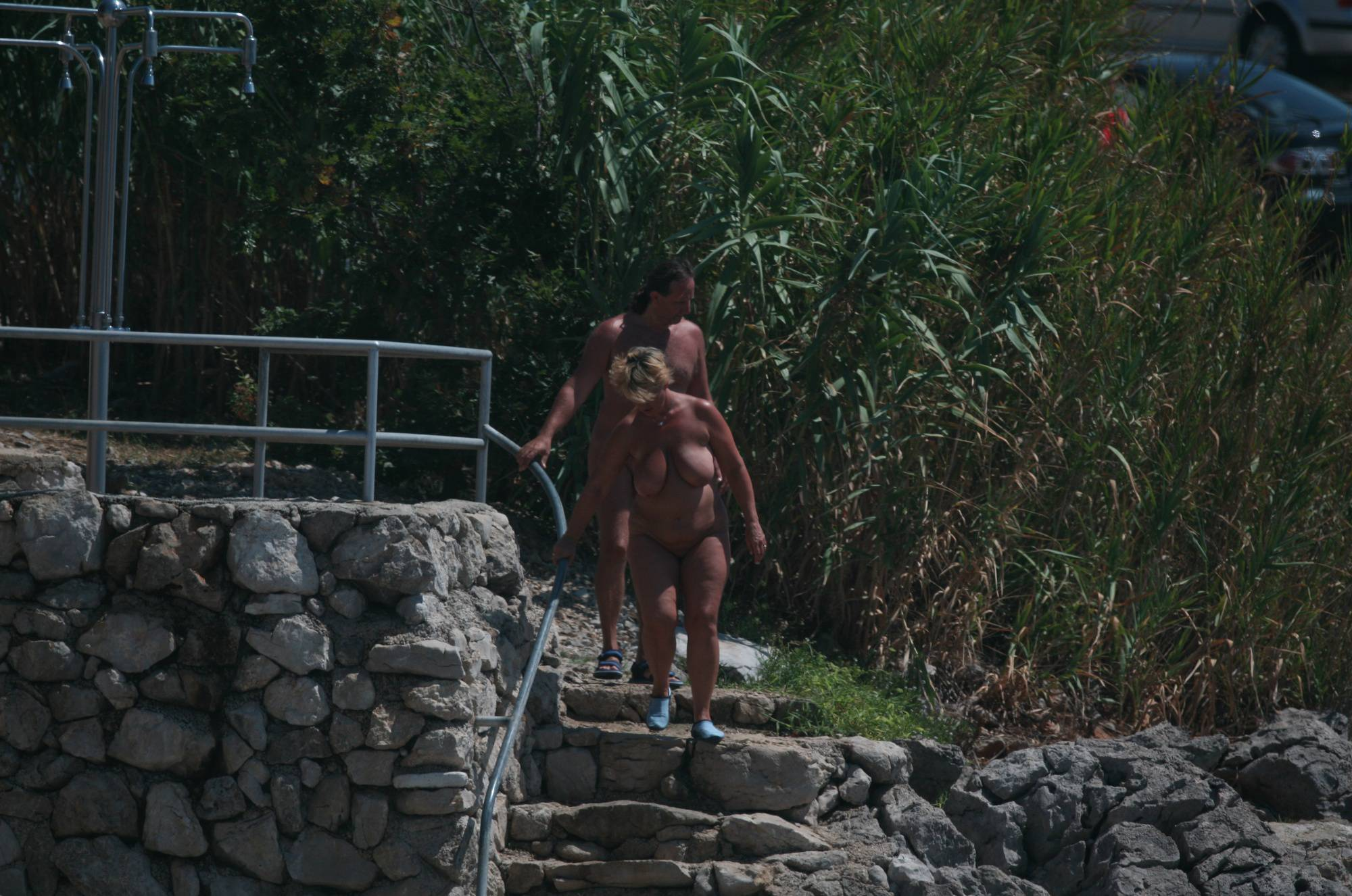 Nudist Pics Cove Public Shower Scene - 1