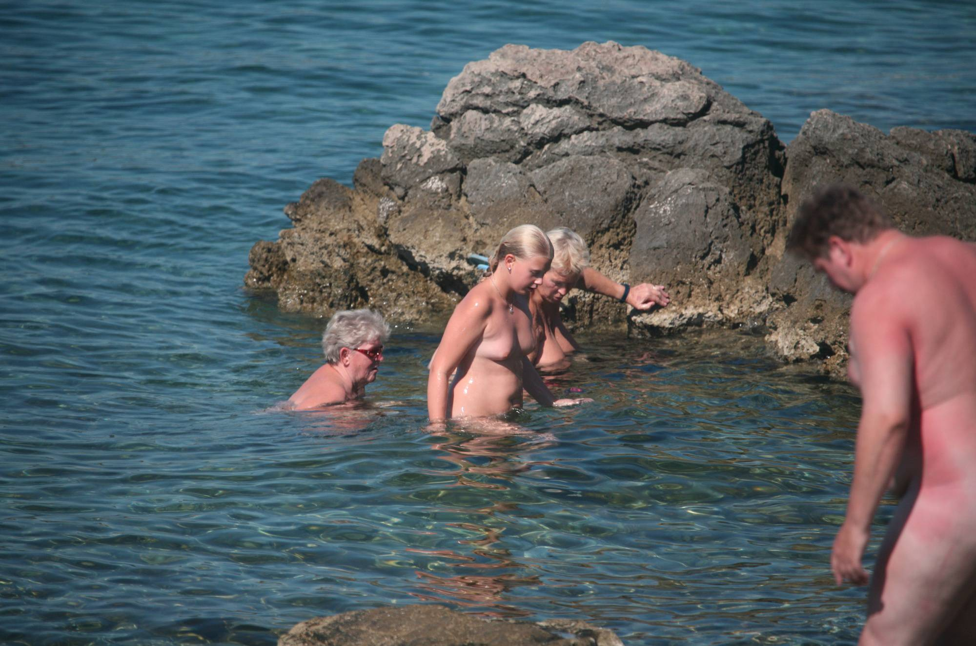 Nudist Pictures Crete One-Braided Nudist - 1