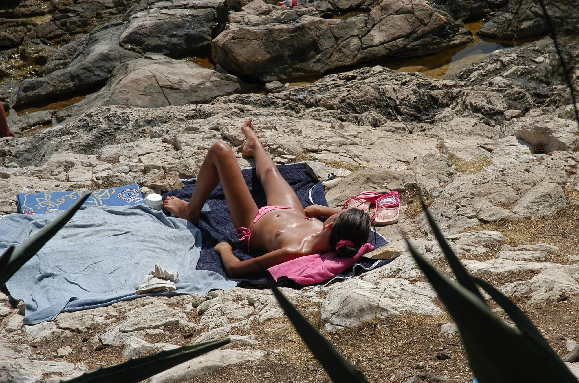 Nudist Pics Croatian Hvar Beach Trip - 2