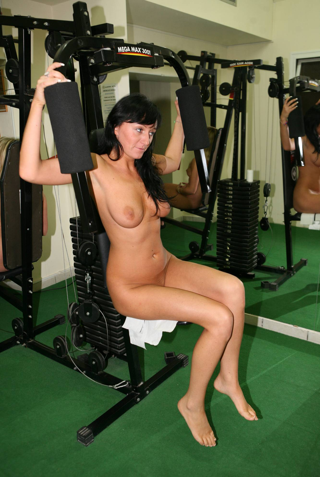 Nudist Pictures Cyprus Aerobic Work Out - 2