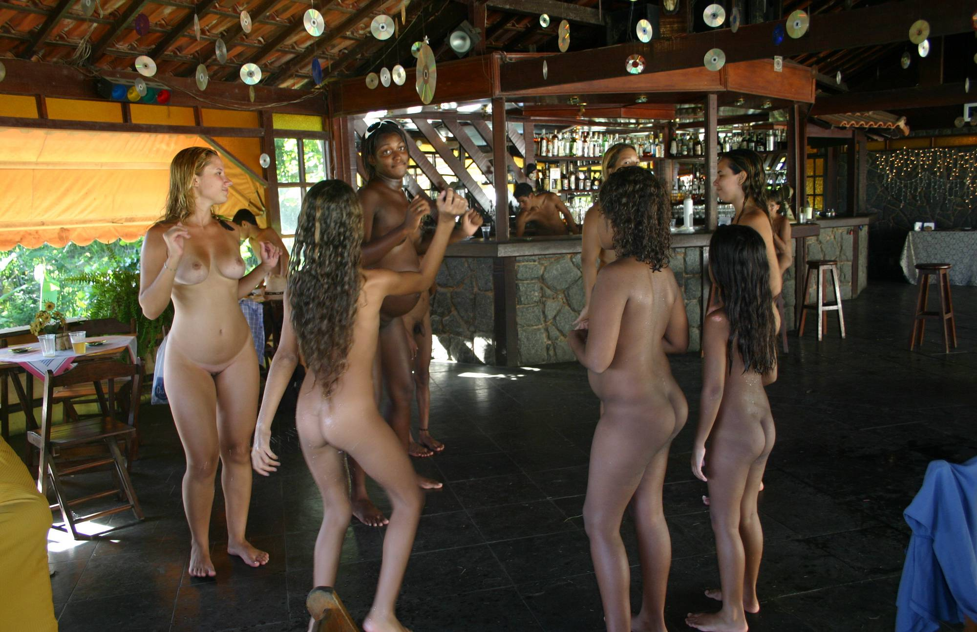Nudist Pics Dance and Outdoor Party - 1
