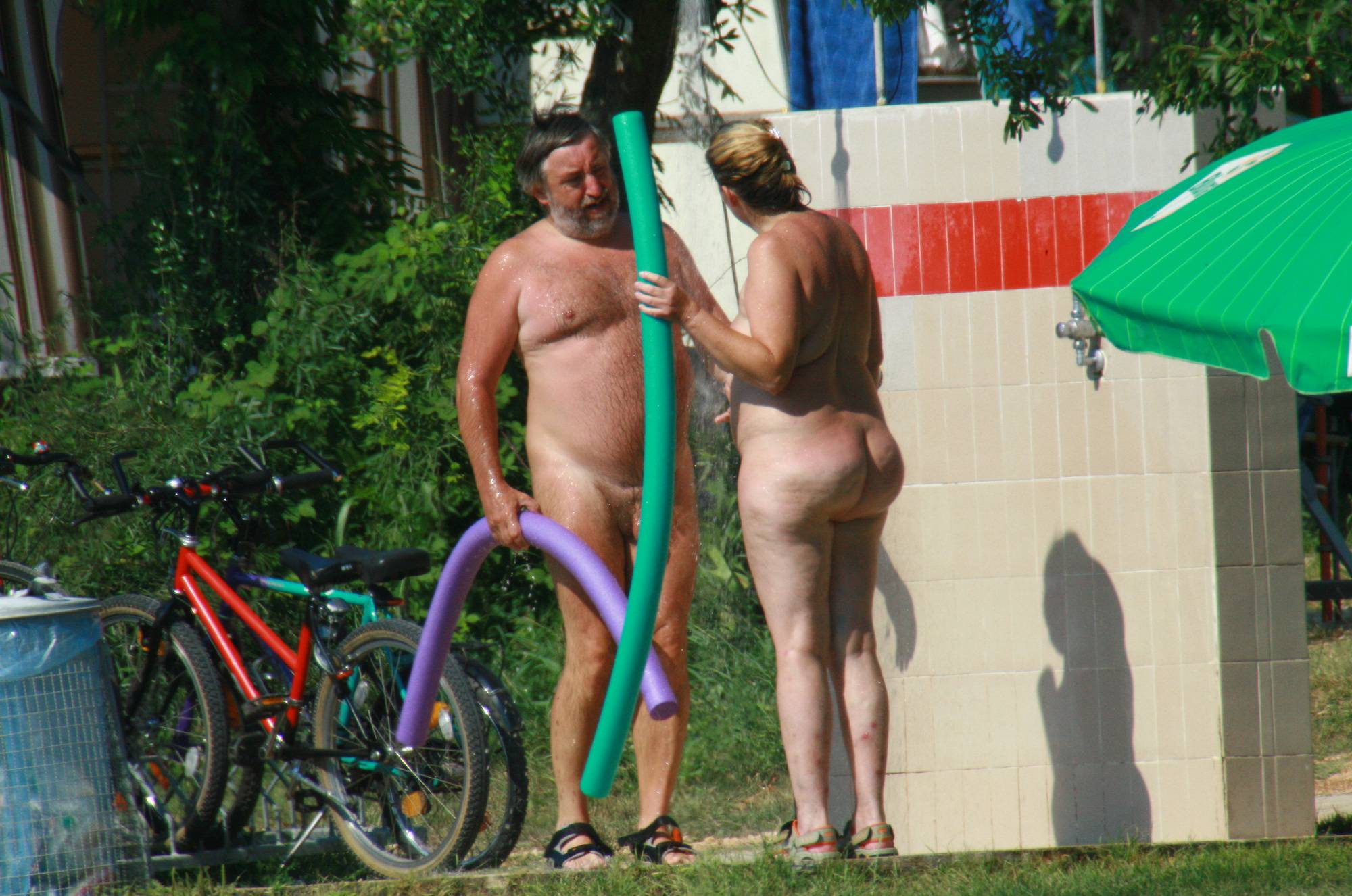 Nudist Pics Early Nudist Member Day - 1