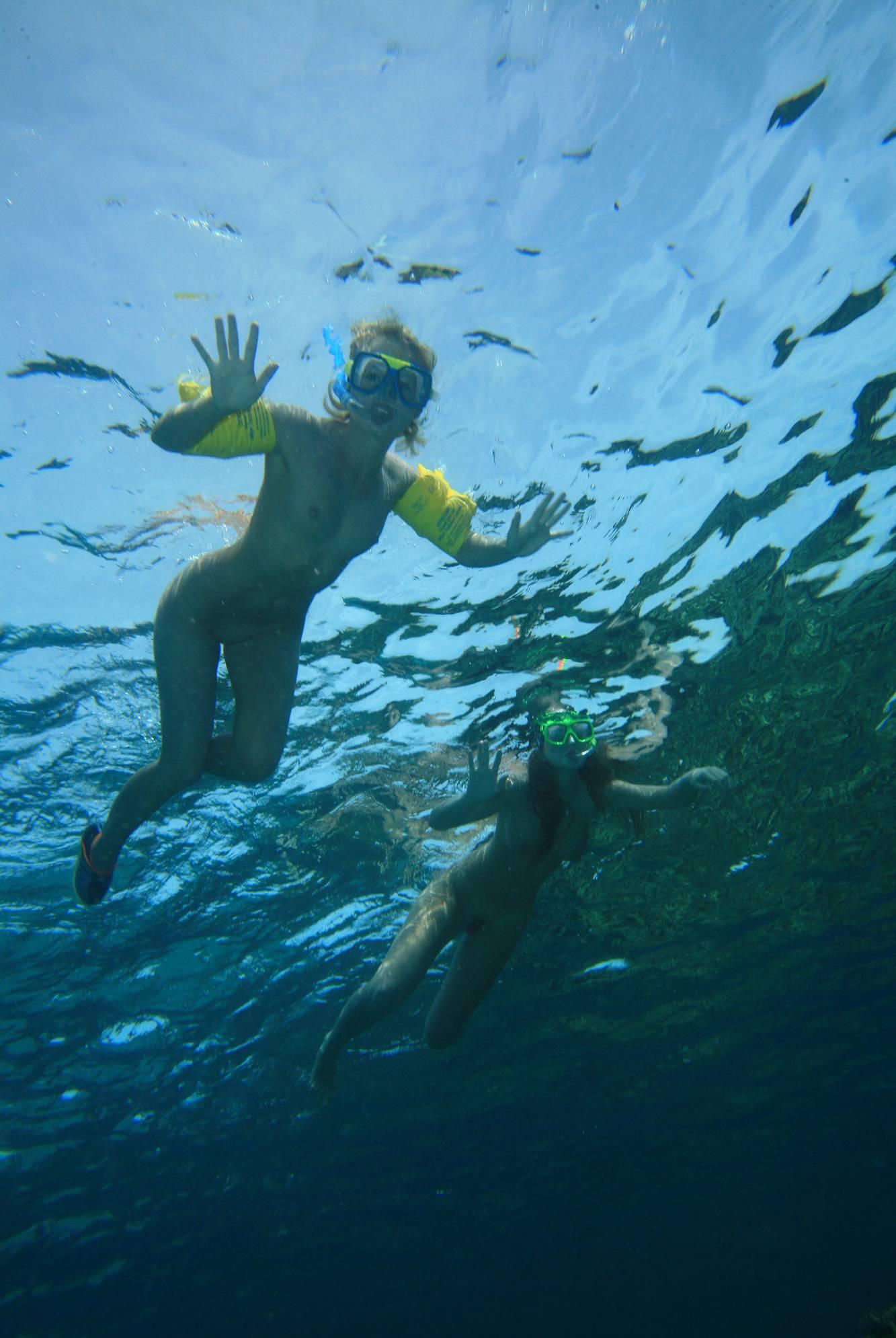 Nudist Gallery Egyptian Snorkelers Part - 1