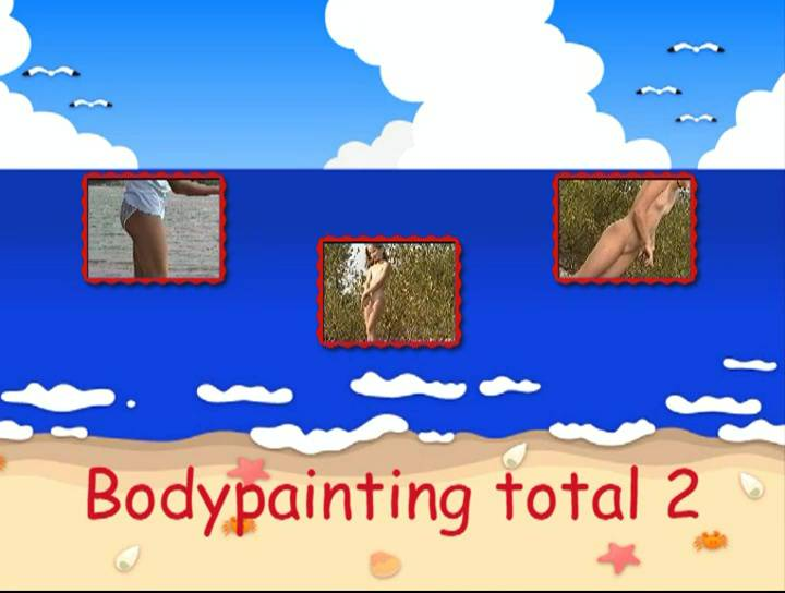 Bodypainting total 2 - Poster