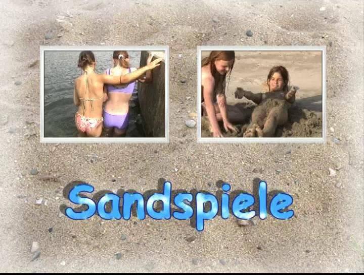 Sandspiele - Poster
