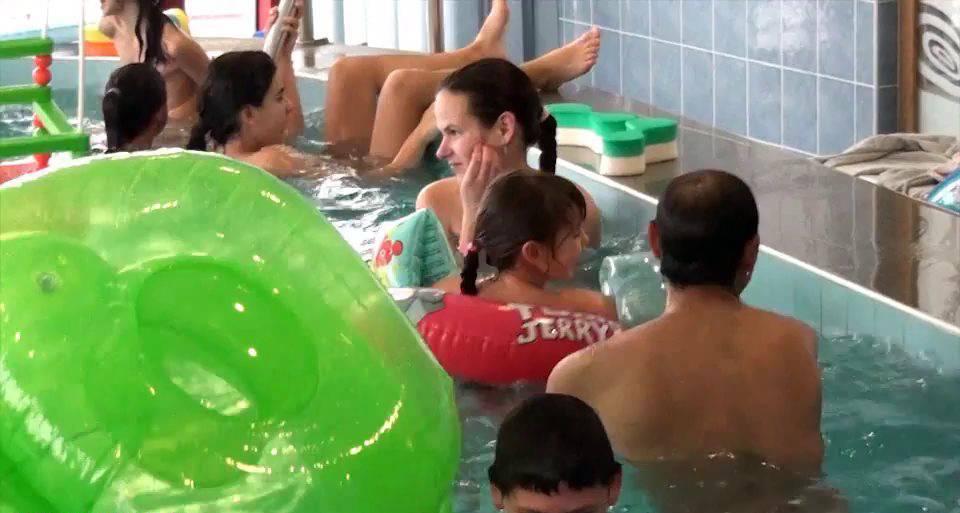 Naturist Videos Indoor Swim Exercise - 2