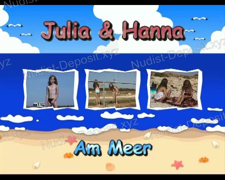 Julia and Hanna Am Meer - cover