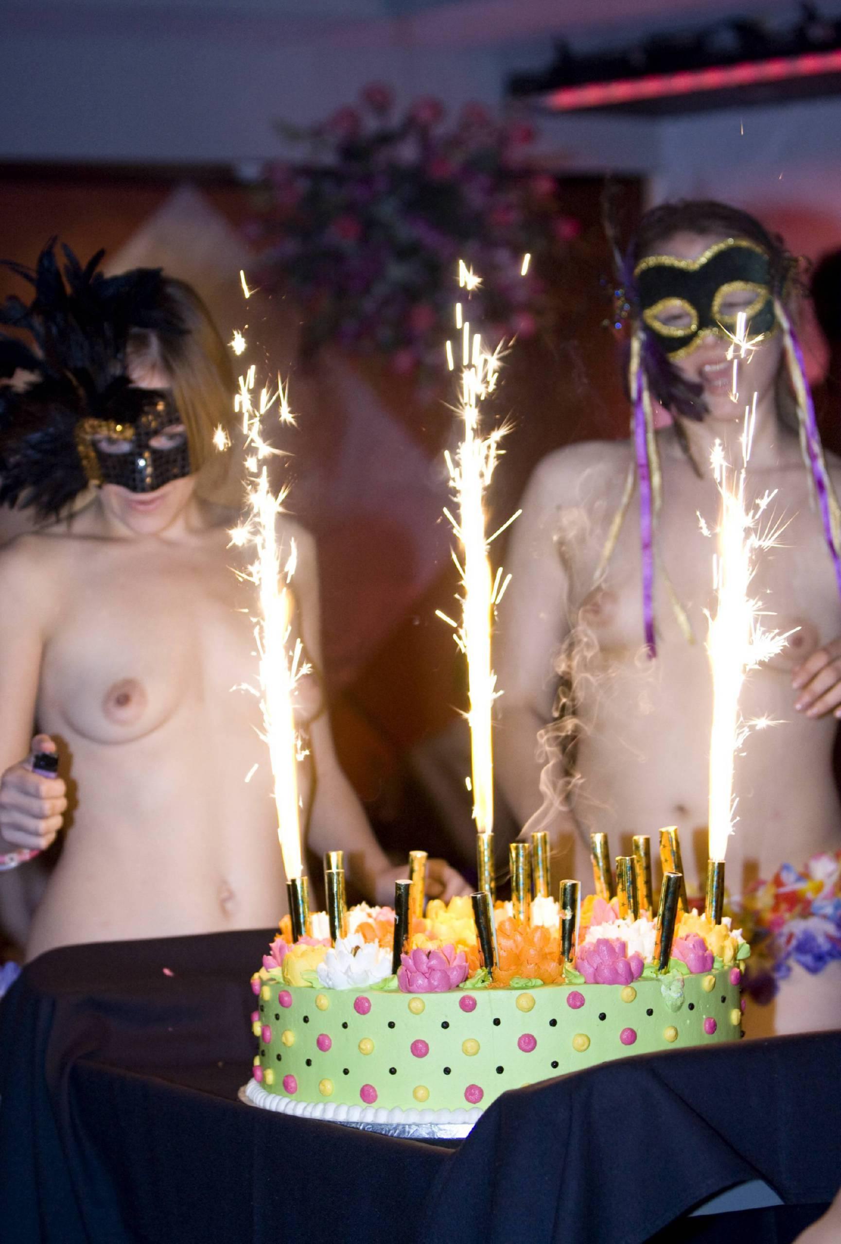 Masquerade Cake Eating - 2