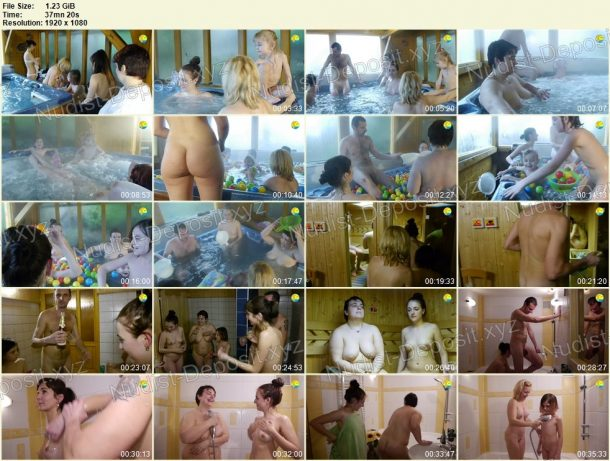 Young Cheerful Time Naturists film stills 1