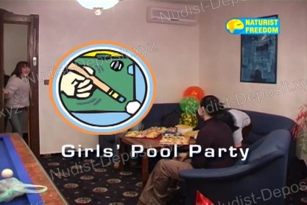 Snapshot of Girls' Pool Party
