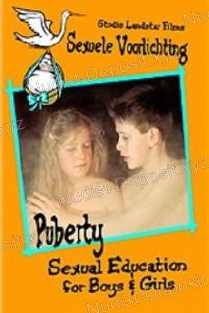 Shot Puberty:Sexual Education for Boys and Girls/Sexuele Voorlichting 1991