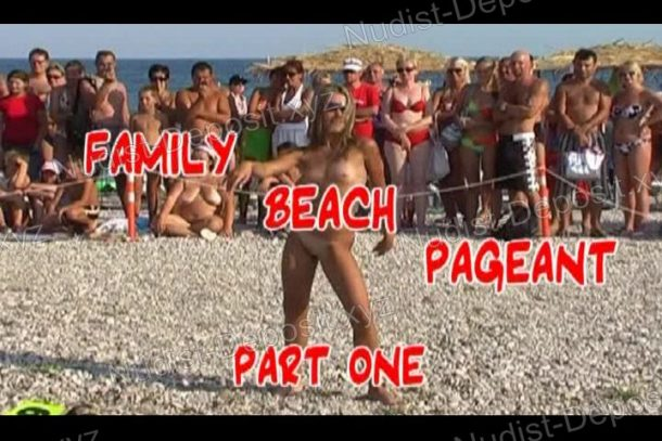 Shot of Family Beach Pageant Part One