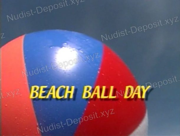 Snapshot of Beach Ball Day