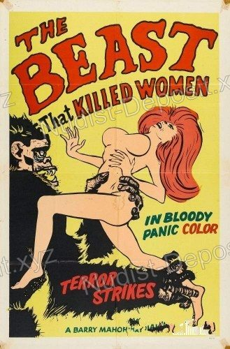 The Beast That Killed Women 1965 cover