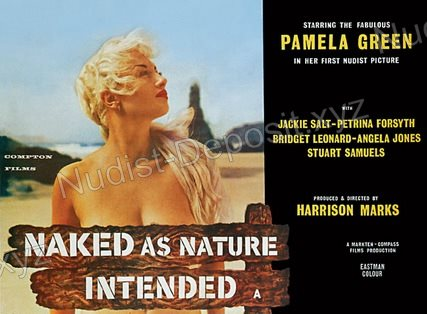 Naked as Nature Intended 1961 shot