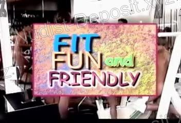 Fit Fun and Friendly - frame