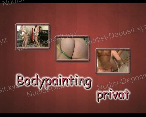 Screenshot Bodypainting Privat