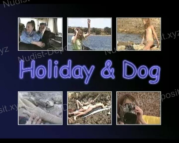 Holiday and Dog cover