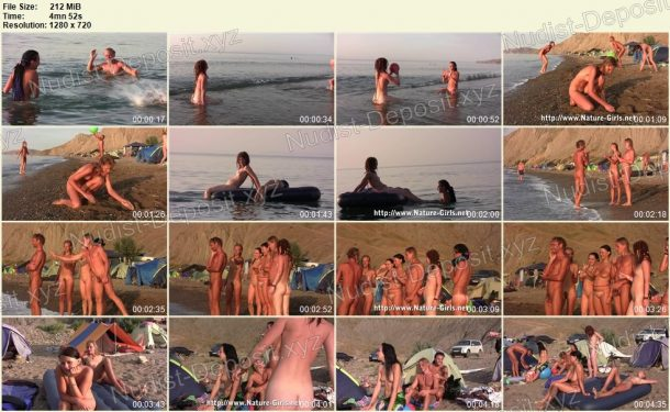 Thumbnails Young Naturists on a Nudist Beach - Nature-Girls.net 1