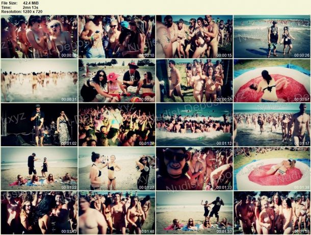 Skinny Dip - Guinness World Record 2013 HD frames 1