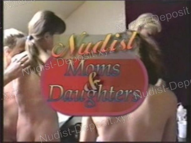 Cover of Nudist Moms and Daughters