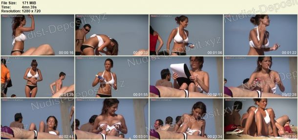 Frames of Nudist Spy Video - ILoveTheBeach.com 1