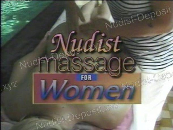 Frame of Nudist Massage for Women
