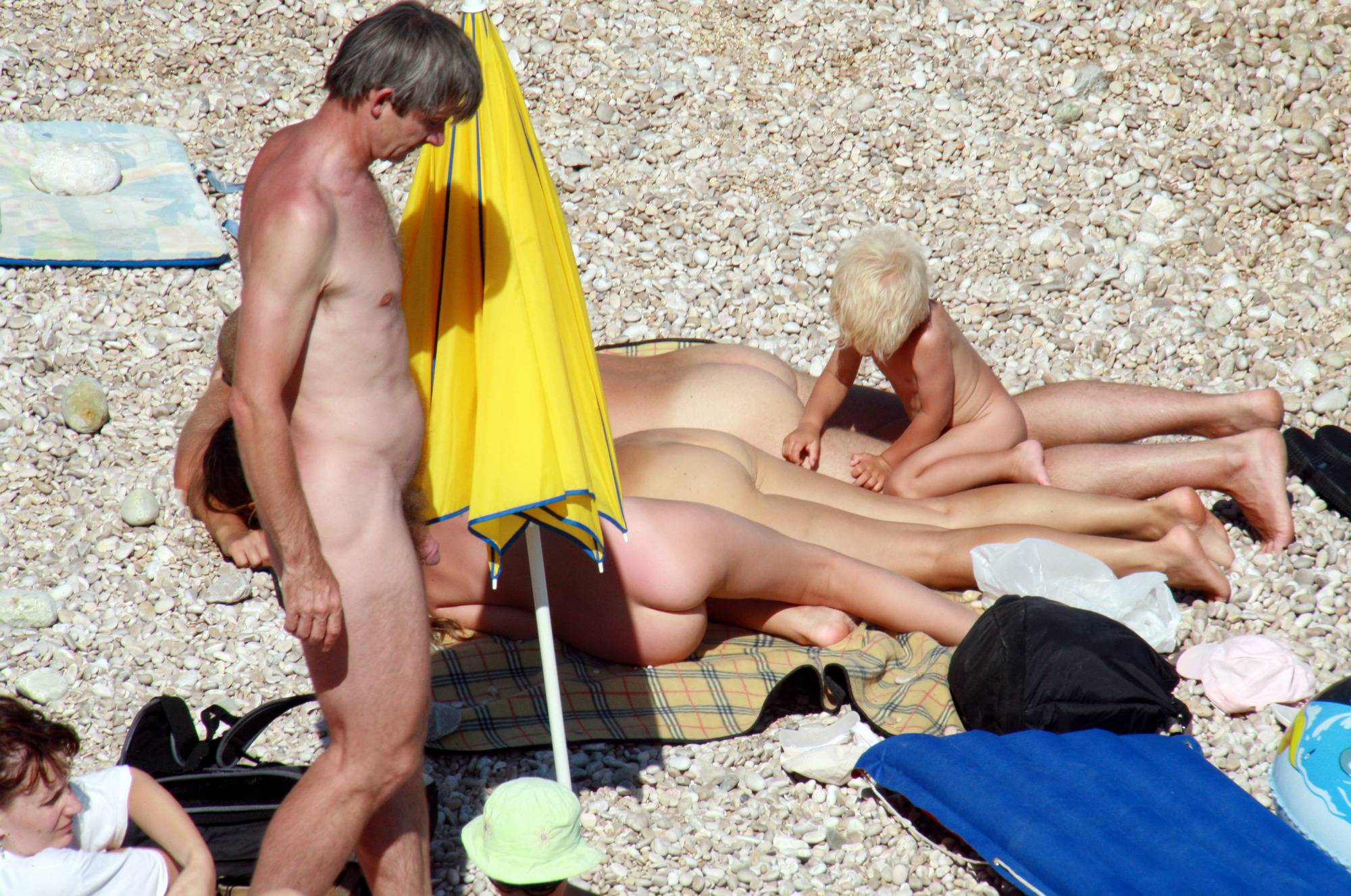 Nudist Pictures Naturist Beach Relaxation - 1