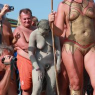 Naturist Boy Sun Warrior