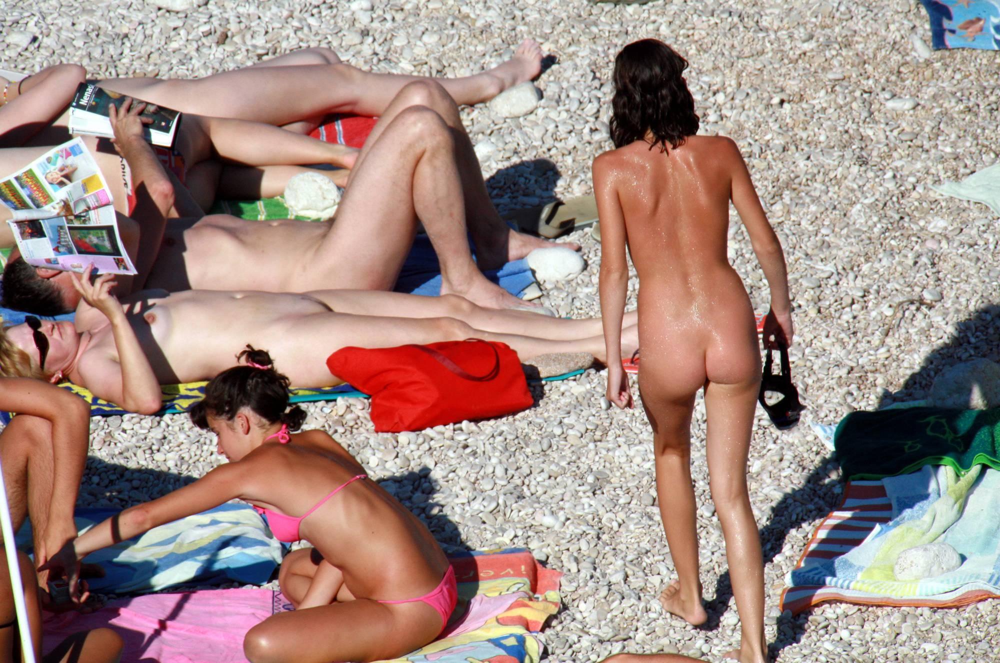 Nudist Photos Naturist Girl Walk Through - 2