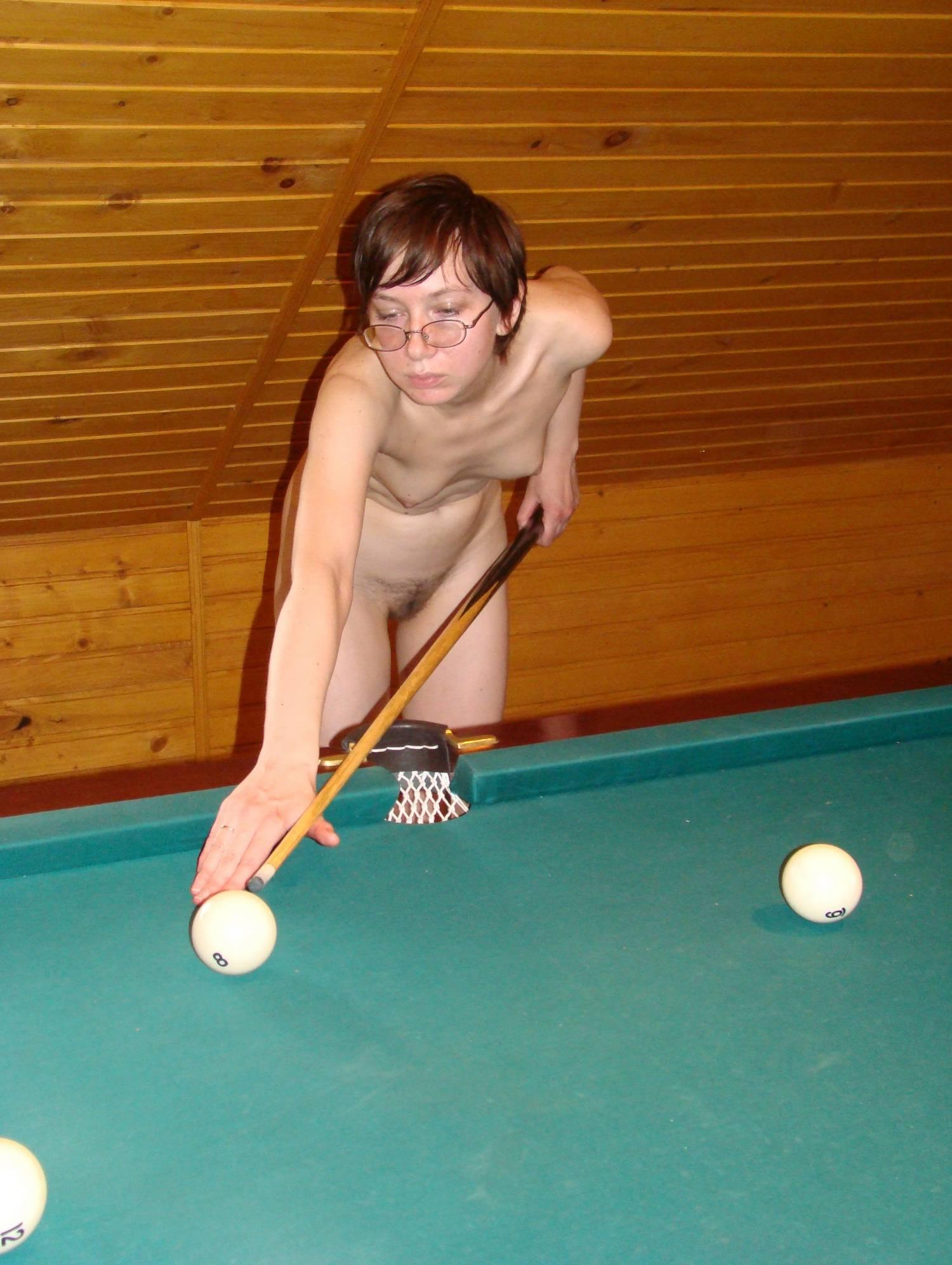 Naturist Girls Pool Gaming - 1