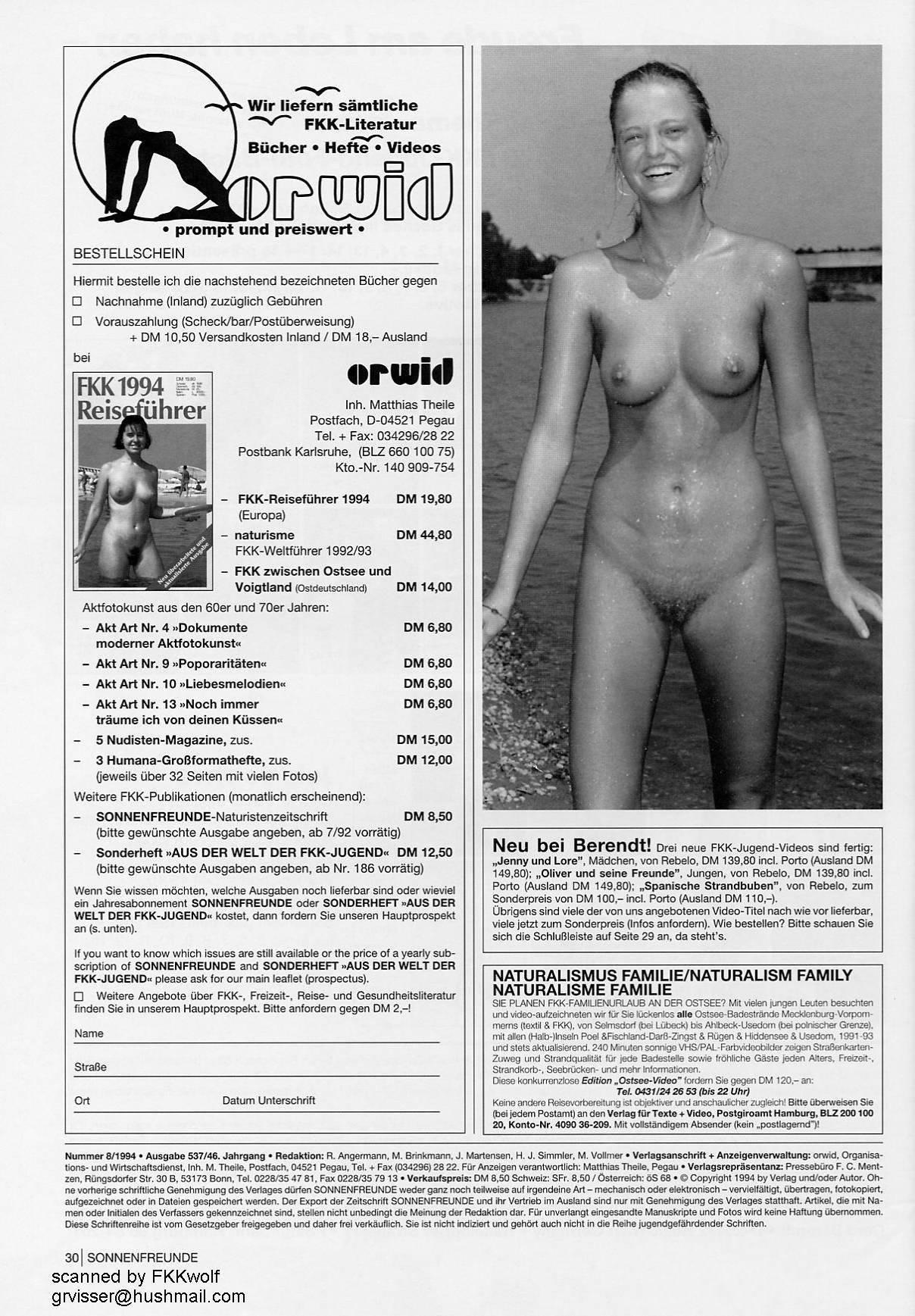 Sonnenfreunde 1994 Nr.8 - 2