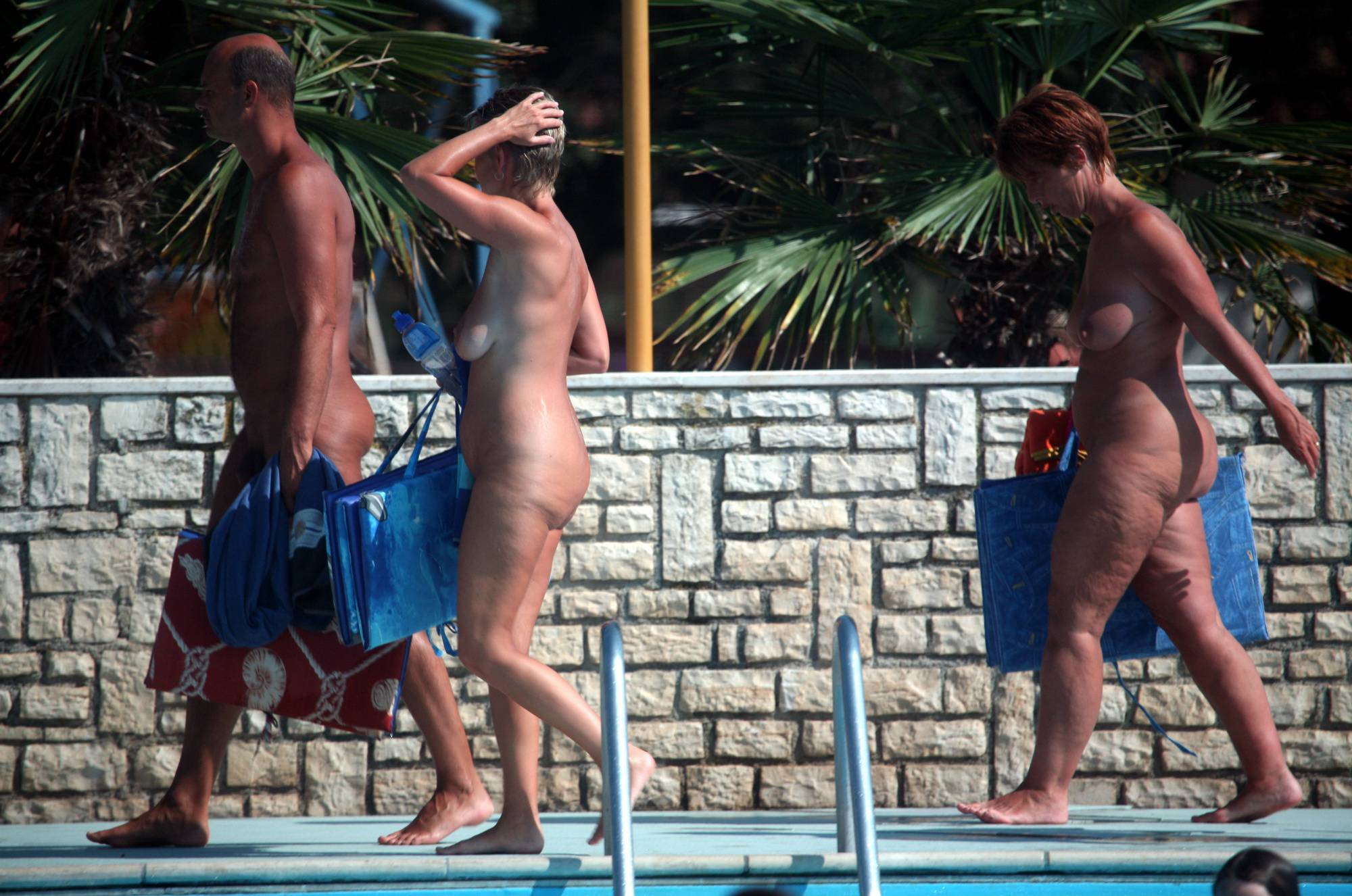 Naturist Pool Cleaning-Up - 2