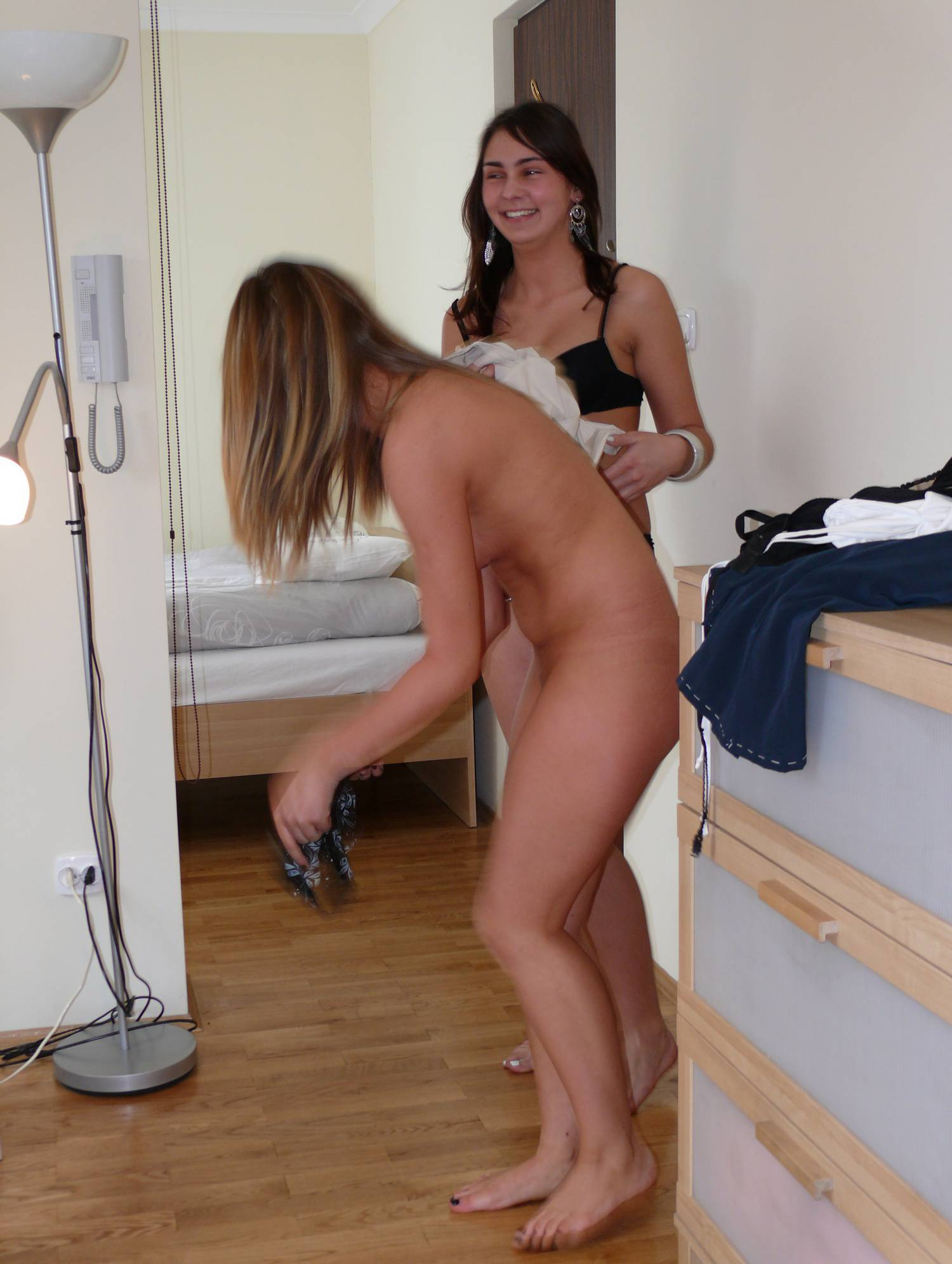 Nudist Pictures Naturist Sewing Girls - 2