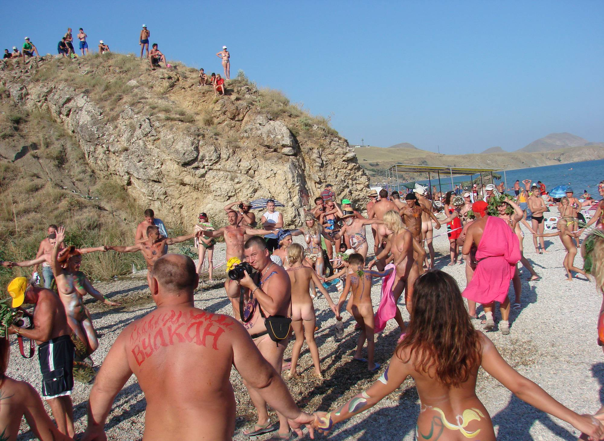 Nudist Gallery Neptune Day Dance Shot - 1