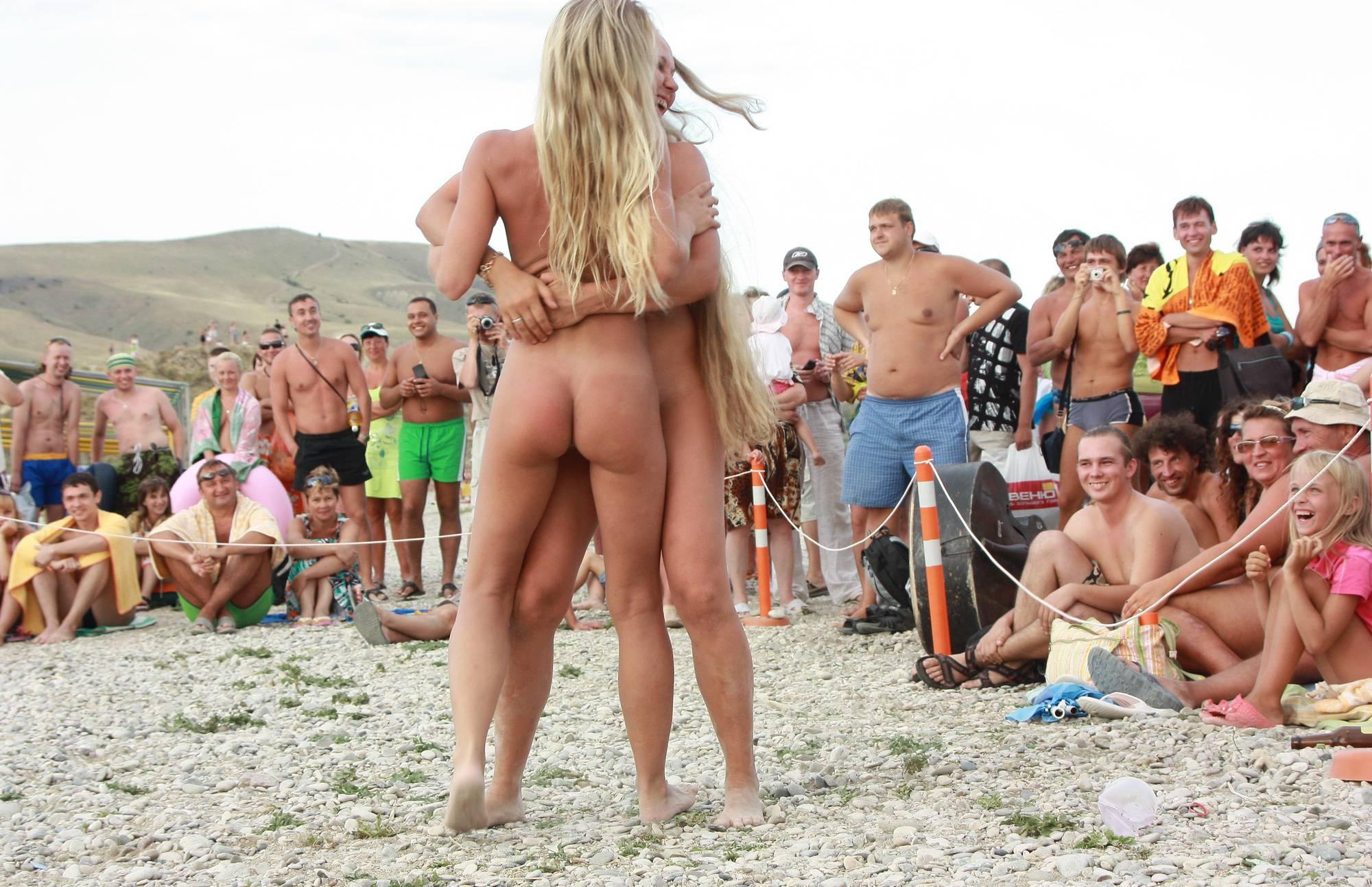 Nudist Photos Neptune Girl is Picked Up - 1